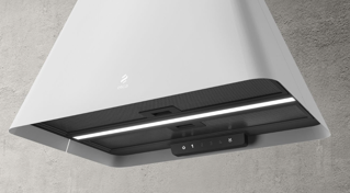 Picture of Elica 60cm Ikona Light Suspended Ecolution Hood Stainless Steel