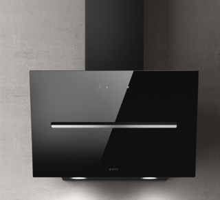 Picture of Elica 60cm Shy-S Vertical Hood Black Glass