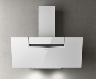 Picture of Elica 90cm Sheen-S Vertical Hood White Glass