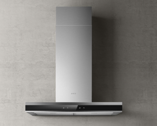 Picture of Elica 60cm Adele Box Hood Stainless Steel + Black Glass