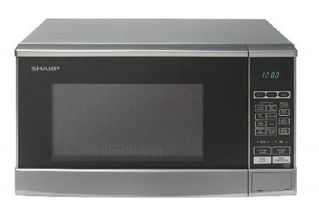 Picture of Sharp 20 Litre 800W Solo Microwave Silver